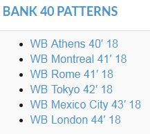 bank 40 patterns